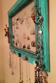Jewelry Storage Solutions 7 Ways - 16 bedroom organizer ideas that you can do it yourself craft