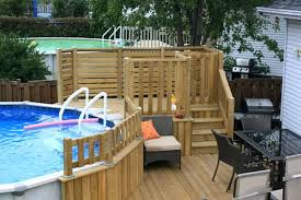 Deck Plans With Pergola by Free 24 Above Ground Pool Deck Plans Free Swimming Pool Deck Plans