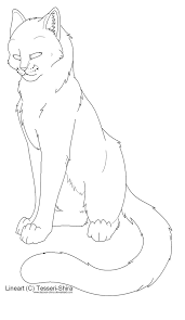 warriors cats coloring pages coloring for kids 3322