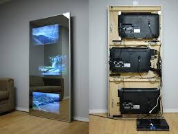 tv hidden behind a mirror u2026 pinteres u2026