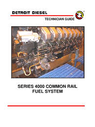 detroit diesel mtu s4000 fuel injection diesel engine
