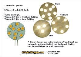 switch 3 way led light bulb led 1079 lg4s963ww 3 way 12 volt led bulb g4 led bi pin side 197