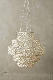 Oyster Chandelier White Hanging Oyster Shells Chandelier