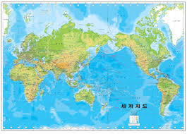 world map in korean world map album on imgur