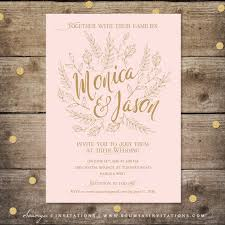 blush and gold wedding invitations blush pink and gold wedding invitation fairy tale wedding