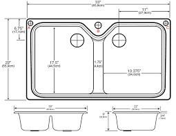 brilliant standard kitchen sink width standard kitchen sink bowl depth best kitchen ideas 2017