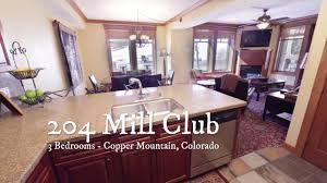 204 mill club 3 bedroom vacation rental copper mountain ski