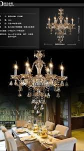 modern crystal chandelier light luxury crystal lamp bedroom dining