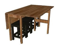 Drop Leaf Dining Table Plans Impressive Drop Leaf Table Plans Drop Leaf Console Table Expands