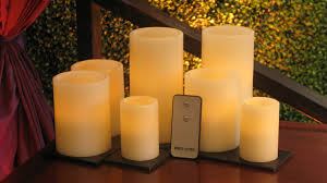 battery operated pillar candles town country event rentals