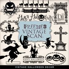 Vintage Halloween Decor Freebies Kit Of Vintage Halloween Decor Far Far Hill Free