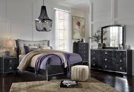 Zelen Bedroom Set King Amrothi Black Panel Bedroom Set From Ashley Coleman Furniture