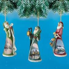 kinkade world santas ornament set issue 15