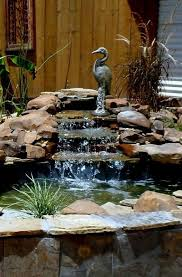 Backyard Water Fountain by 1021 Best Water Features U0026 Landscaping Images On Pinterest