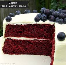 vegan red velvet cake power hungry