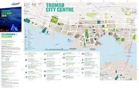 Isu Map Tromsø City Map 2016 By Visit Tromsø Issuu