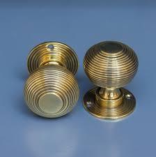 beehive door knobs in aged brass grace u0026 glory home