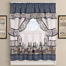 kitchen curtains kitchen curtains wine theme wayfair