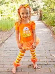 Candy Corn Halloween Costumes Sassy Candy Corn Bodysuit Romper Pettiskirt Tutu Bow