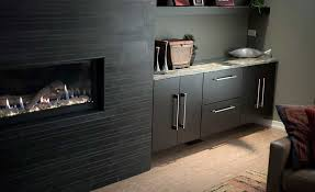 Fireplace Wall Tile by Gallery Ebony Basaltic Wall Tile