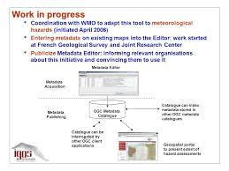 catalogue bureau center task di progress report gonéri le cozannet igos geohazards ppt