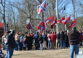 Battle Flags Of The Confederacy Virginia Flaggers Fly Confederate Flag Off I 95 South In Prince