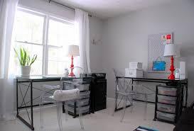 Stonington Gray Living Room Office Makeover Under 150 Benjamin Moore Stonington Gray Ghost