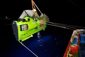 james cameron now at ocean u0027s deepest point