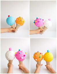 hello wonderful diy pretend play ice cream cones