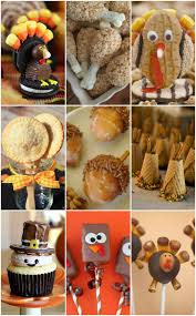 rice krispie treat turkey pops thanksgiving desserts easy