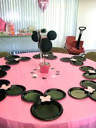minnie mouse table set minnie mouse birthday party ideas pink lover