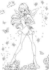 download free fairy colouring pages ziho coloring