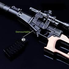 pubg vss pubg vss keyring pot metal weapon model elementees