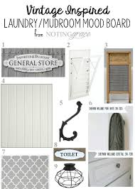 Vintage Laundry Room - vintage inspired laundry room painting the cabinets noting grace
