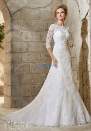 flared lace wedding dress with long sleeves wedding dress ideas
