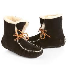 womens sheepskin boots size 11 acorn sheepskin moxie bootie slippers