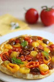 t駘駑atin recettes de cuisine tarte tatin aux légumes du soleil touche de parmesan mincir et