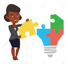 american made light bulbs african american businesswoman completing light bulb made of