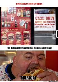 Heart Attack Meme - heart attack grill by erf meme center