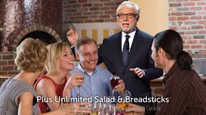 olive garden family meals wolf blitzer walks into middle of olive garden commercial to