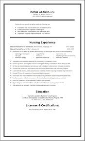 Resume Rn Sample Rn Resume New Grad Lpn Template Free Exeptional Nursing