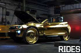 rides gold camaro zl1 king 813 customs extremely obnoxious still