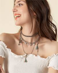 woman with necklace images Accessories jewelry pink woman jpg