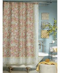 Pink Flower Shower Curtain Jessica Simpson Marina Floral Print Shower Curtain Shower
