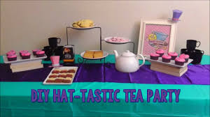 high party ideas diy after high inspired hat tastic tea party birthday idea