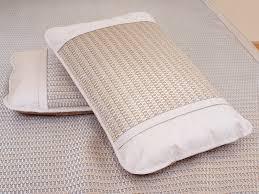 Pillow Topper Glacial Bing Si Rattan Mattress Topper Pillow Sham S Set Qbedding