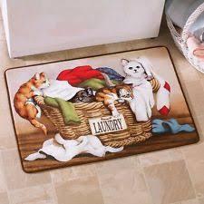 Laundry Room Rugs Mats Cat Rug Ebay