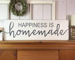 Home Made Wall Decor Kitchen Signs Etsy