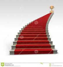 teppich treppe treppe und roter teppich stockbild bild 31147131
