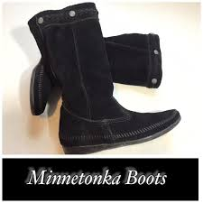 womens moccasin boots size 12 8016 best minnetonka s moccasins images on